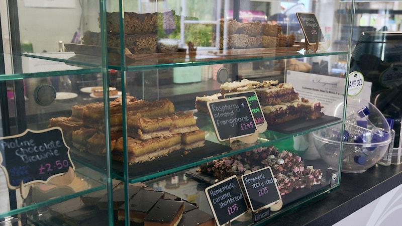 Sandymouth Cake selection